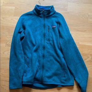 NWOT Patagonia full zip sweater large